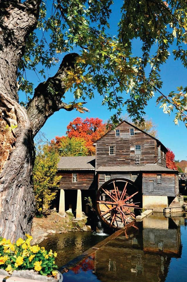 The Old Mill in Pigeon Forge is a nice throwback destination, full of shops, restaurants and an old-fashioned atmosphere.