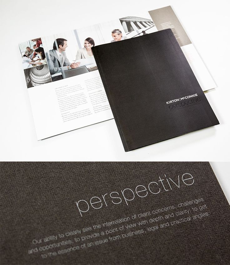 Kirton McConkie Presentation Kit #epicmarketing #marketing #print #presentationkit #kitcover #brochure