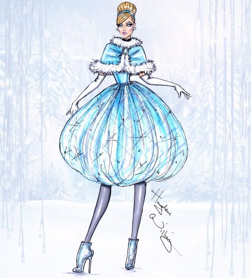 Disney Divas 'Holiday' collection by Hayden Williams: Cinderella| Be Inspirational❥|Mz. Manerz: Being well dressed is a beautiful form of confidence, happiness & politeness: