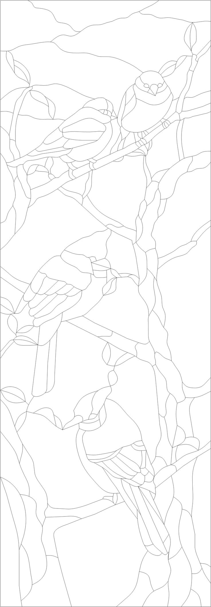 Les oiseaux sur la branche partagé sur ZimageZ par Lion_elle