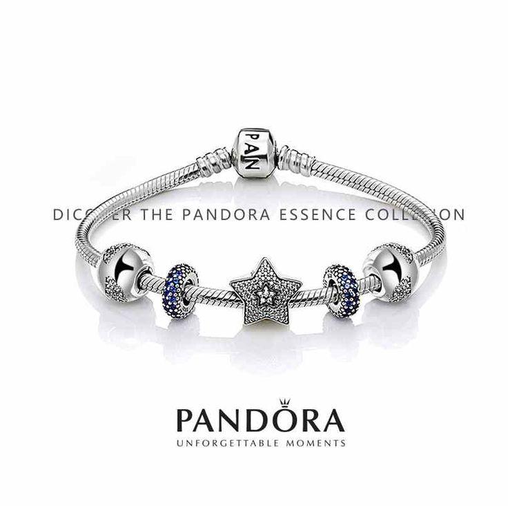 Pandora Pandora 925 Sterling Silver Inspirational Bracelet (XJ9416)