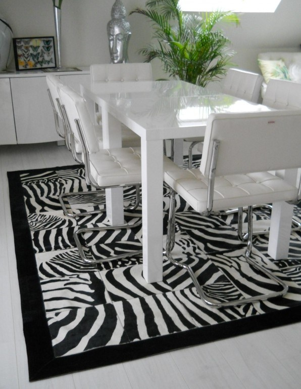 zebra patchwork tapijt  zebra patchwork rug