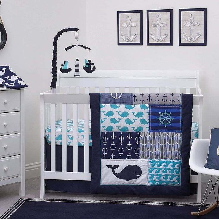 20 Unique Ocean Theme Baby Nursery Ideas Oh My Googoogaga Baby Nursery Baby Crib Bedding Sets Baby Boy Bedding Baby Crib Bedding