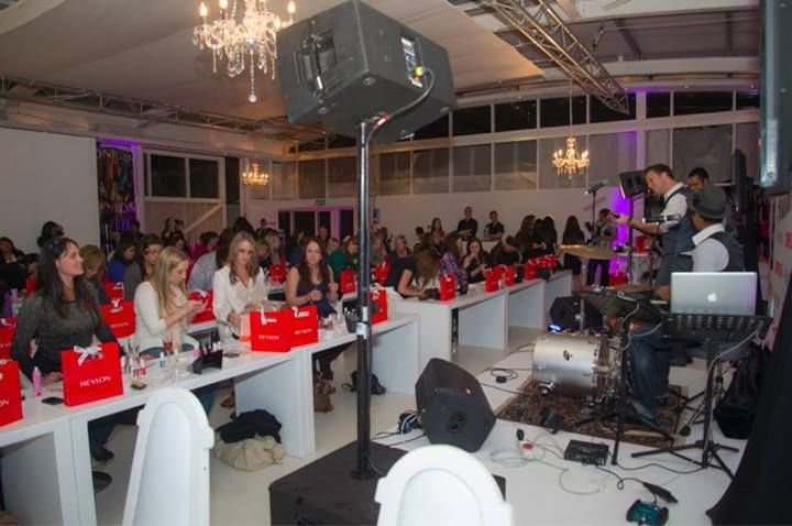 The @Revlon South Africa #COSMOpolished workshop in Cape Town with @Cosmopolitan SA