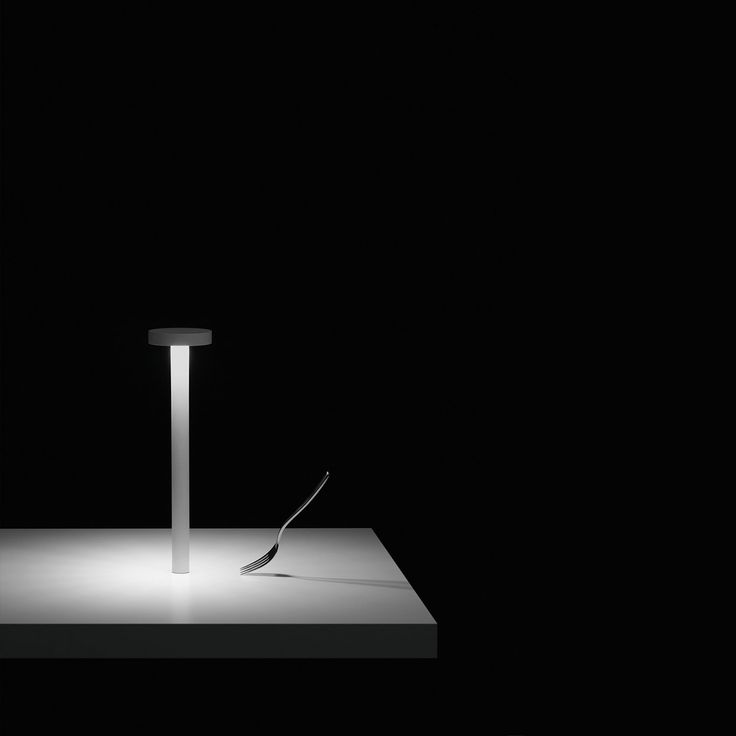 TETATET - rechargeable LED lamp table