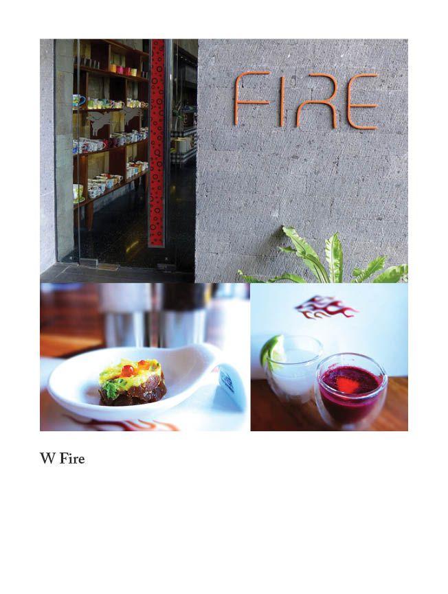 Fire at W Retreat & Spa Bali
