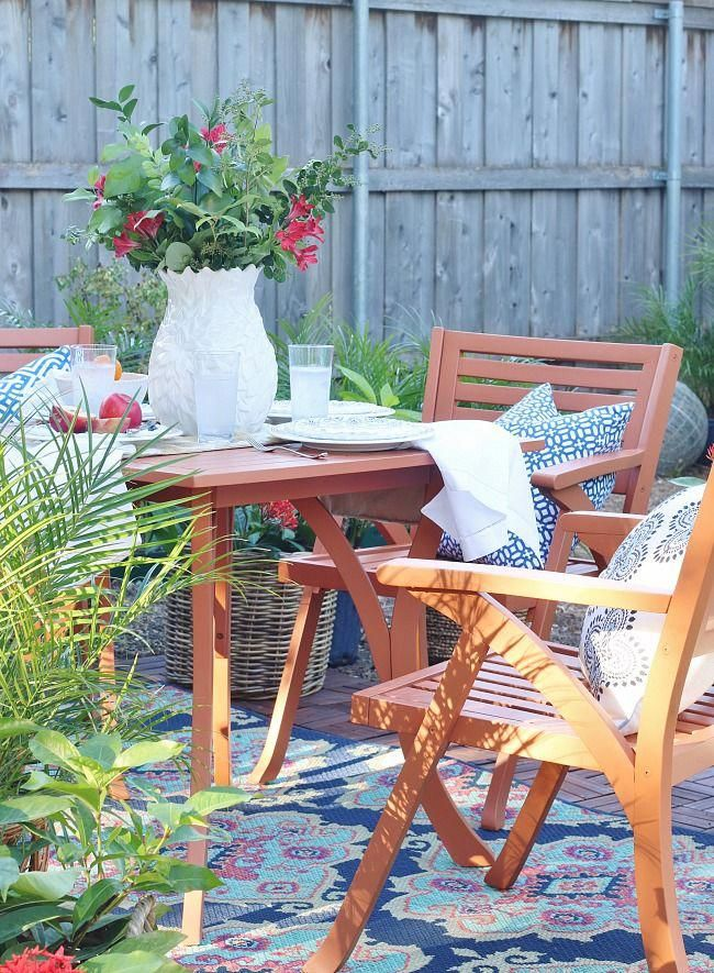 Backyard Makeover with 2019 Sherwin-Williams Color of the Year