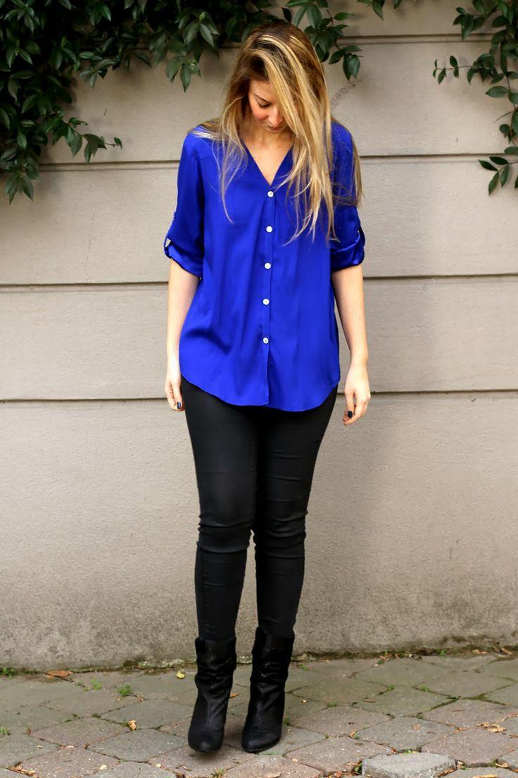 BURCU ARKUT: No Blue Mondays, Just The Blue Shirt ;)