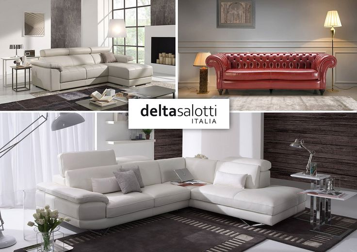 Delta‬ ‪‎Salotti‬ Extremely careful selection of leather upholstery and the possibility of removing the parts of the sets of seats to the back makes the product durable and easy to reflect.