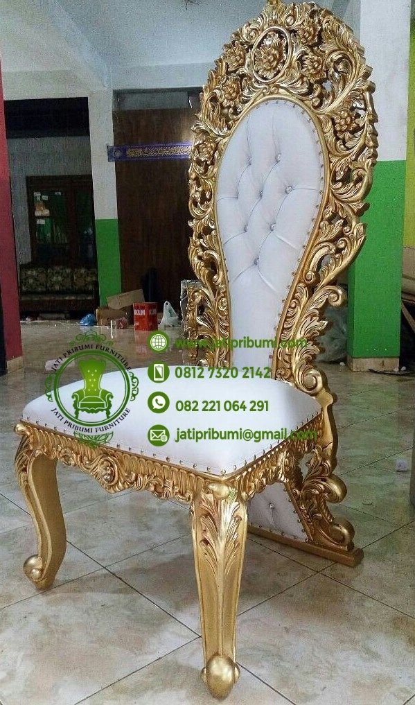 Kursi Makan Mewah Terbaru www.jatipribumi.com