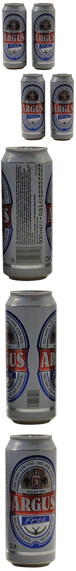 Soft Drinks 179188: Argus: Free Non Alcohol Malt Beer Taste Beverage 50Cl 16.9Oz Pack Of 4 Italian -> BUY IT NOW ONLY: $126 on eBay!