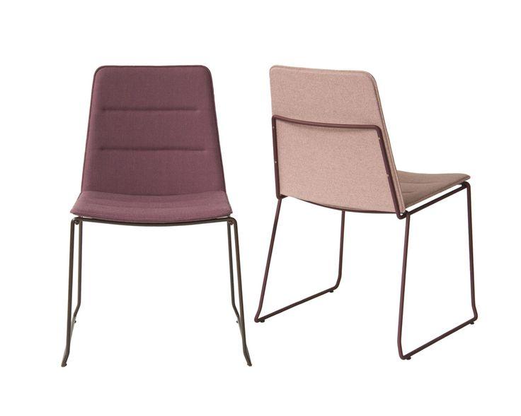 Cadeira Clip Estofada | Fernando Jaeger