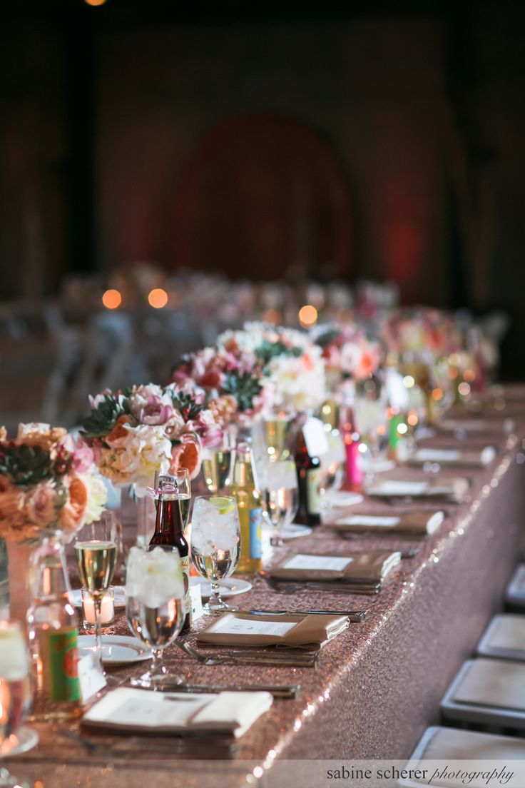 Kings Tables at The Mountain Winery / Saratoga, CA / Wedding Venue / Sabine Scherer Photography