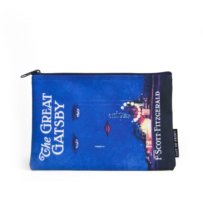 The Great Gatsby canvas pouch | Outofprintclothing.com
