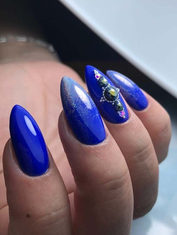 Beautiful Styles Of Blue Nail Art Designs for Women 2018 | Nails ...