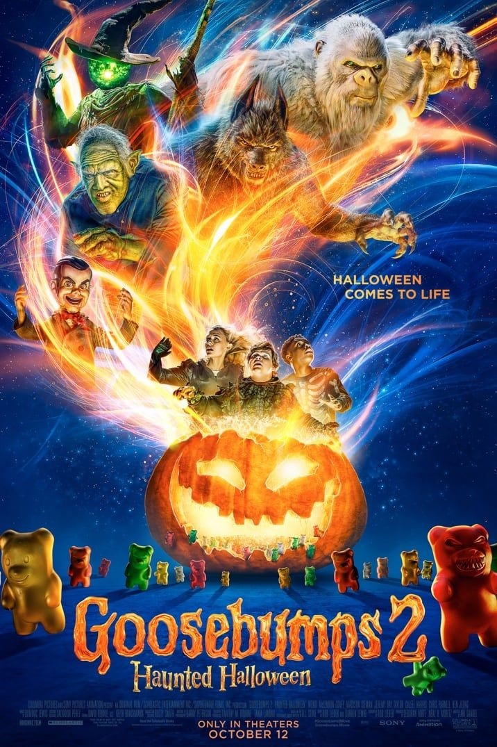 Goosebumps 2: Get Tickets   Sony Pictures   Just Blue in