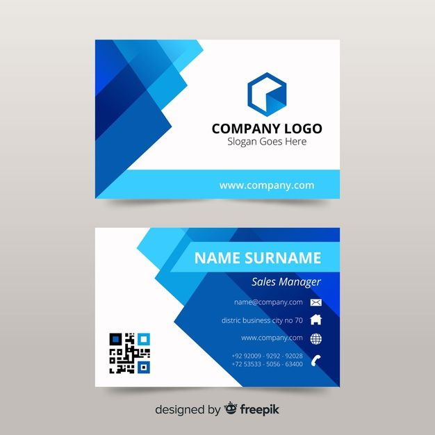 Download Flat Business Card Template For Free Business Cards Layout Colorful Business Card Business Cards Creative