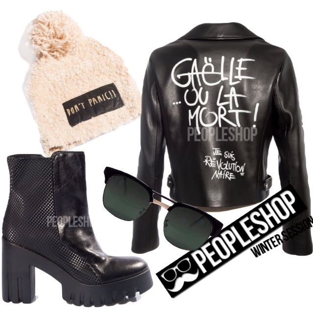 ✌️GAELLE OU LA MORTTotal outfit disponibile online PEOPLESHOP.it #gaelle#shopart#unlace