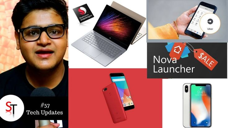 Mi A1 Red Edition, iPhone Price Hike, Nova Launcher Prime, Mi Notebook, ...