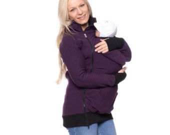 Baby Carrying Jacket 3in1 baby carrier coat by VivalaMamaBerlin