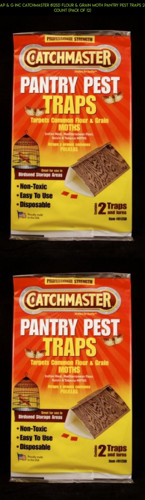 Ap & G Inc Catchmaster 812sd Flour & Grain Moth Pantry Pest Traps 2 Count (Pack of 12) #g #gadgets #fpv #tech #plans #shopping #technology #products #racing #drone #kit #parts #storage #camera