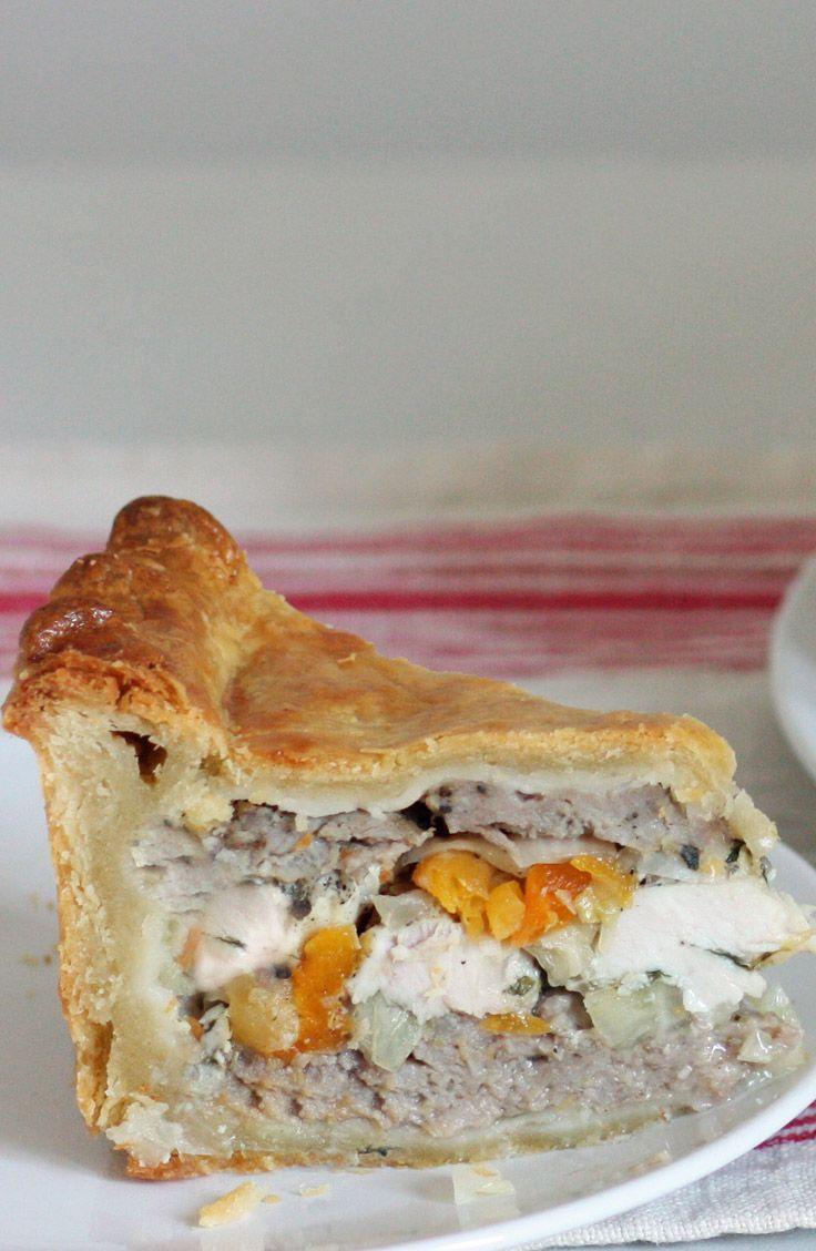 What makes pork pies taste even better? Chicken and apricots. Change gears and shape your pies into something special from the Great British Bake Off.