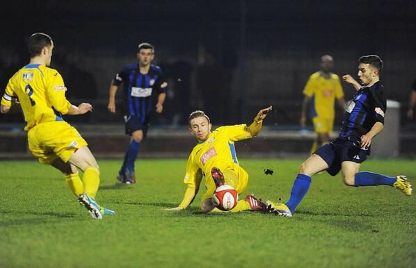 Thomson for King's Lynn Town FC v Worksop Town 10 /12 /13