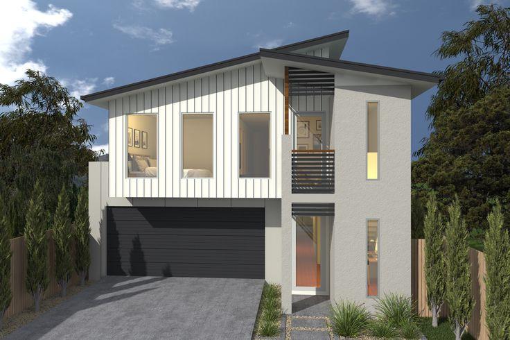 Costa Home Designs  Sunshine Coast Home Builders  ARGENTO253 Urban Facade