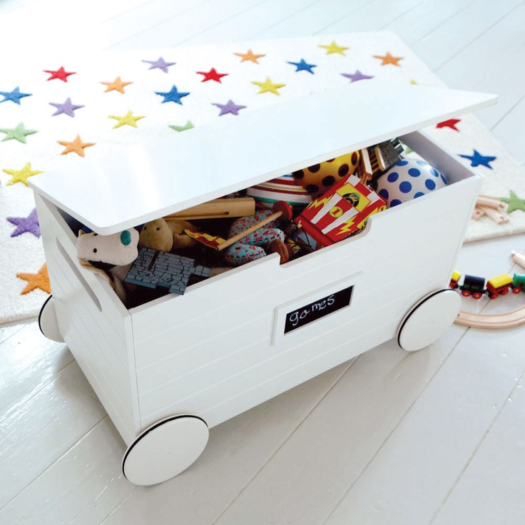 Wheeled Toy Box