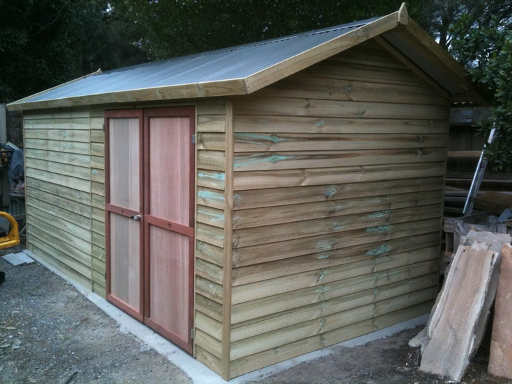 38 best Timber Sheds images on Pinterest Garden sheds Home