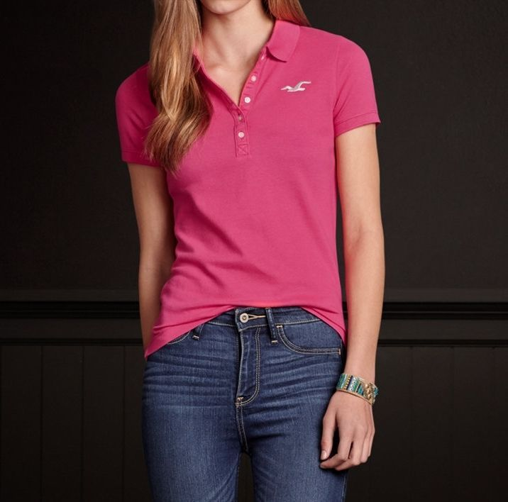Abercrombie Womens Polo Shirts