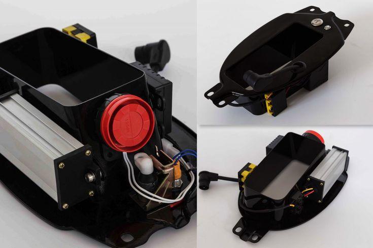 Honda eCub – A Honda Cub Electric Conversion Kit By Shanghai Customs