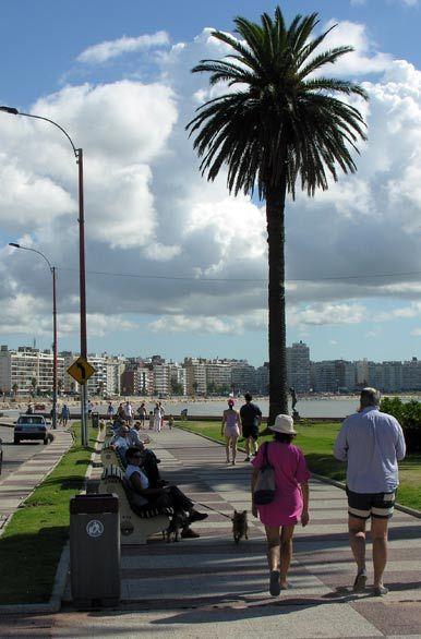 Rambla de Montevideo, Pocitos. Uruguay.