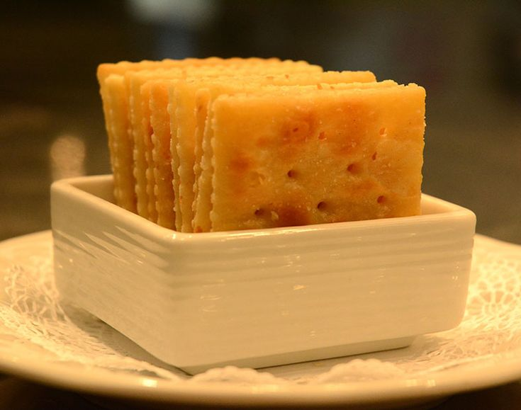 Baked Saltines - One of the most requested recipes from Atlanta's Piedmont Driving Club is its buttered, baked saltines