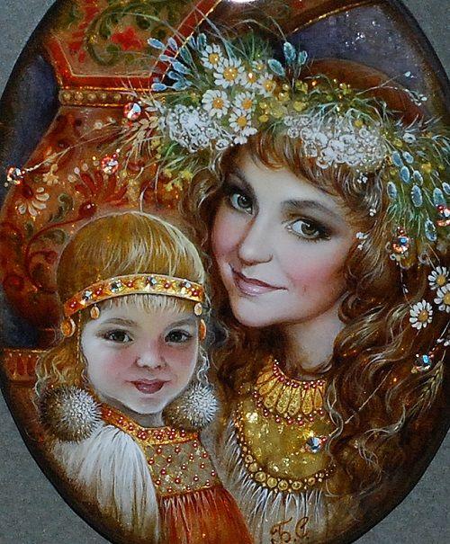 Ladushka and Lelechka, pendant