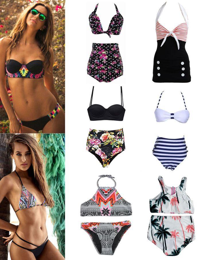·Colores, Tallas y Precio según el modelo· #Shalala #Ropa #Accesorios #Bikini #PinUp #Flores #Rayas #Verano #Vacaciones #Playa #Palmeras