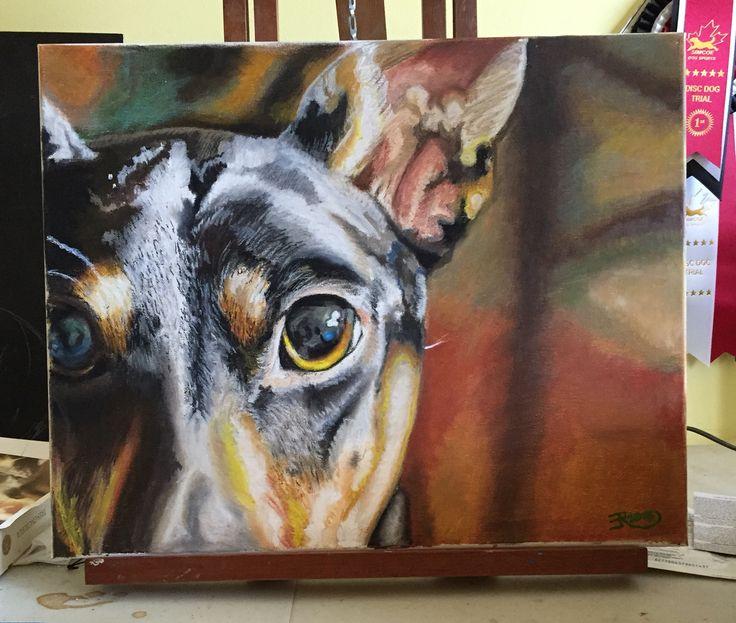 Pastel on canvas 16x20  2015