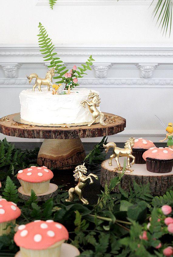 woodland fairy 5th birthday party