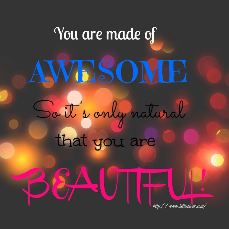that YOU are BEAUTIFUL! | Quotes | Pinterest | You Are Beautiful, You ...