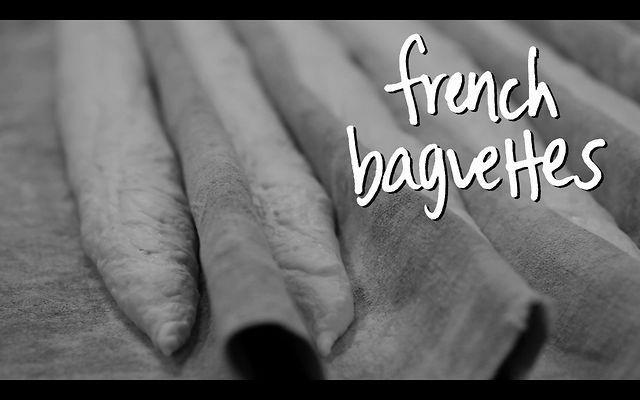 La baguette française.