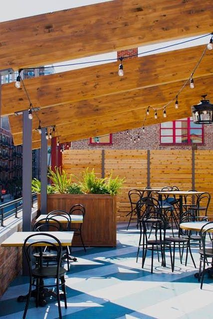 Chicago's 15 Best Rooftop Bars and Restaurants #purewow #entertainment #cocktail #food #restaurants