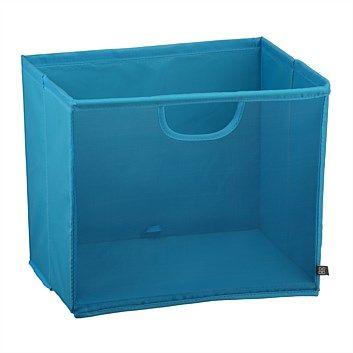 Briscoes - Easi Storage Box Mesh Blue Square