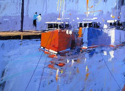 tony allain DPANZ,PSA : colour and light: Marina SOLD