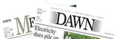 "In an attempt to hybrid traditional newspaper layout and embrace the capabilities of the Internet, dawn.com has created an interactive newspaper. Named ""e-paper,"" users are able to highlight the sections they wish to read, while keeping the front-page familiarity associated with traditional newsprint."