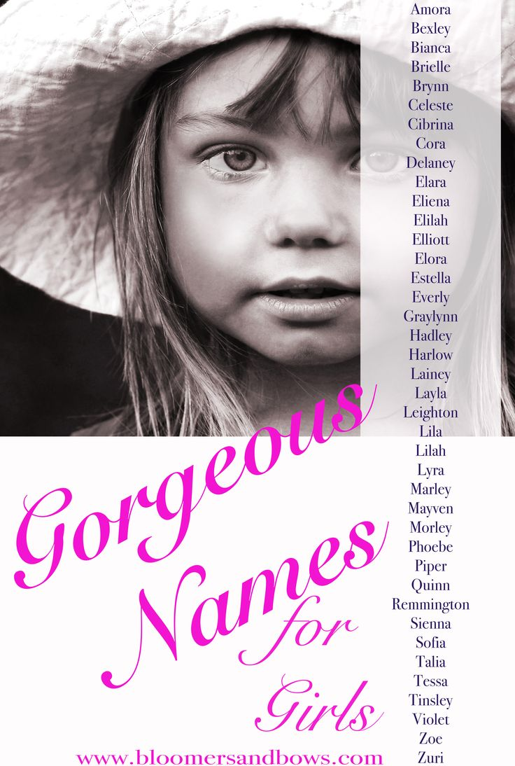 Beautiful  Unique Baby Girl Names  Names  Baby Girl