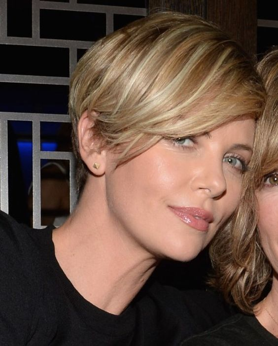 25 gorgeous charlize theron short hair ideas on pinterest 40 long pixie hairstyles thatll make you want to go short urmus Image collections