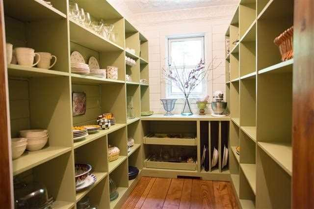 78 best pantry ideas images on pinterest kitchen storage for Country kitchen pantry ideas