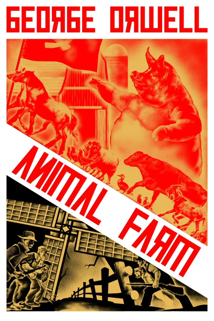 Image result for animal farm cover