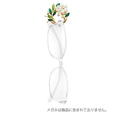 グラスホルダー ブローチタイプ フラワーモチーフ|ギフトアイテム|MIKIMOTO - ミキモト