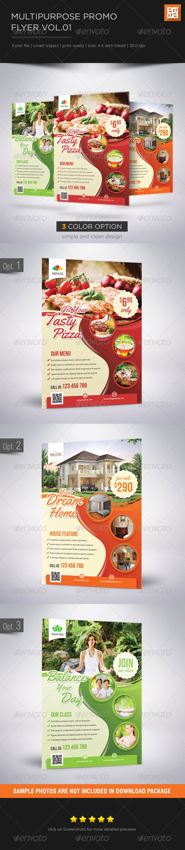 Multipurpose Promo Flyer Template PSD | Buy and Download: http://graphicriver.net/item/multipurpose-promo-flyer-vol-01/6528598?WT.ac=category_thumb&WT.z_author=aan_designer&ref=ksioks